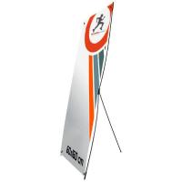 X-Banner 60 x 160 cm, con funda non woven