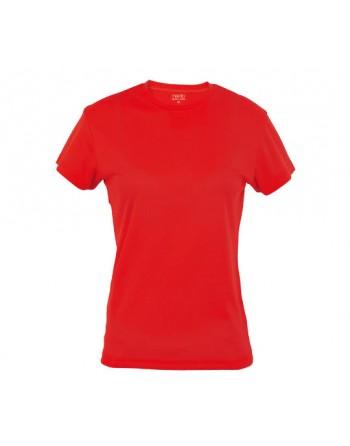 Camiseta Mujer Técnica Lisa...
